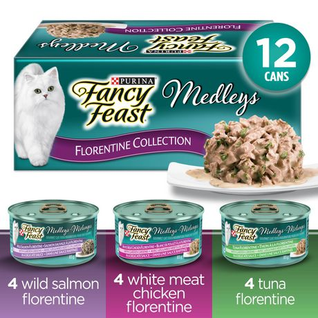 Fancy Feast Elegant Medleys Florentine Collection Wet Cat Food Variety Pack - image 1 of 5