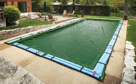 Blue Wave 12 Year Rectangular In Ground Pool Winter Cover