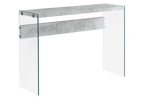 Monarch Specialties Grey Console Table Walmartca