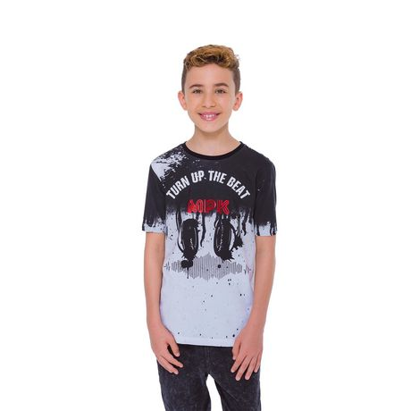 Boys Mini Pop Kids Turn Up The Beat T-Shirt - image 4 of 7
