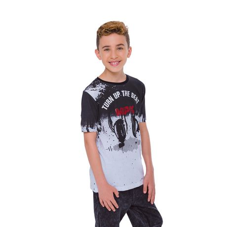 Boys Mini Pop Kids Turn Up The Beat T-Shirt - image 2 of 7