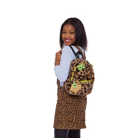 Girls Mini Pop Kids Plsuh Backpack - image 1 of 5