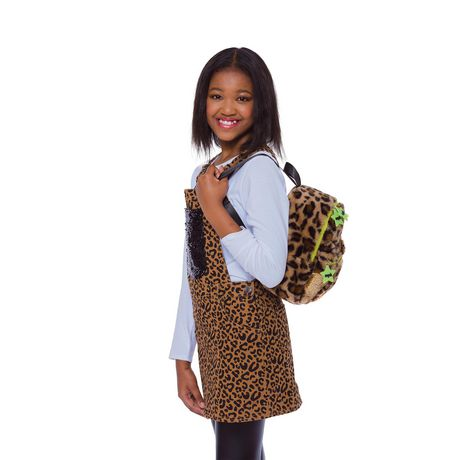 Girls Mini Pop Kids Plsuh Backpack - image 2 of 5