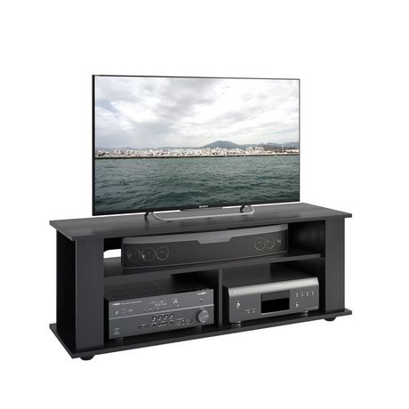 CorLiving Bakersfield Ravenwood Black TV Stand - image 1 of 3