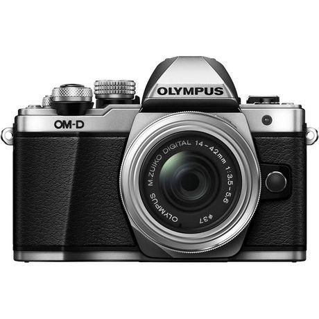 Appareil photo numérique sans miroir OM-D E-M10 Mark II d'Olympus de 16 MP en argent - image 2 de 6