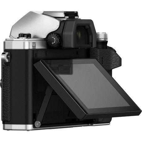 Appareil photo numérique sans miroir OM-D E-M10 Mark II d'Olympus de 16 MP en argent - image 3 de 6