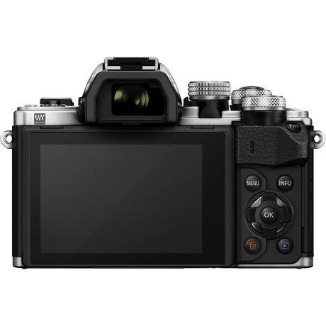 Appareil photo numérique sans miroir OM-D E-M10 Mark II d'Olympus de 16 MP en argent - image 4 de 6