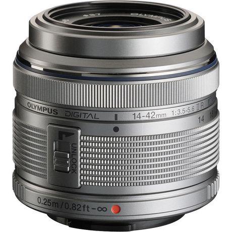 Appareil photo numérique sans miroir OM-D E-M10 Mark II d'Olympus de 16 MP en argent - image 6 de 6
