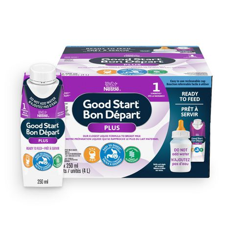 NESTLÉ GOOD START with PRO-BLEND Stage 1 Baby Formula, Ready-to-Feed - image 2 of 7
