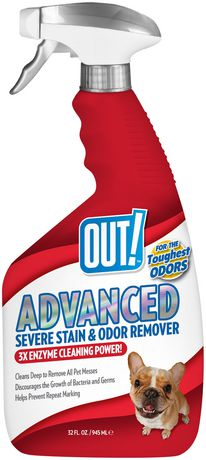 OUT! Advanced Severe Stain & Odour Remover - image 1 of 2