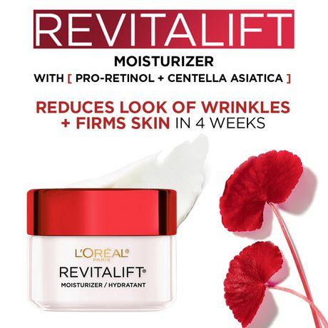 L'Oréal Paris Revitalift Anti-Wrinkle + Firming Anti-Aging Cream Day Moisturizer, with Pro-Retinol & Centella Asiatica, 50 mL - image 2 of 9
