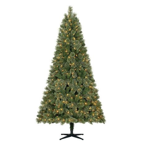Holiday Time 7.5' Liberty Cashmere Quick Set Pine ...