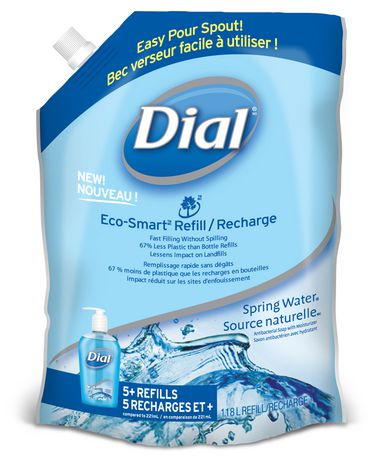 Dial Eco Smart Refill Spring Water Antibacterial Hand Soap