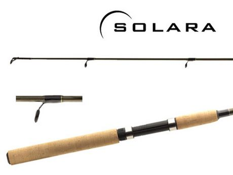 Shimano solora 7 39 medium spinning rod for Fishing rods at walmart