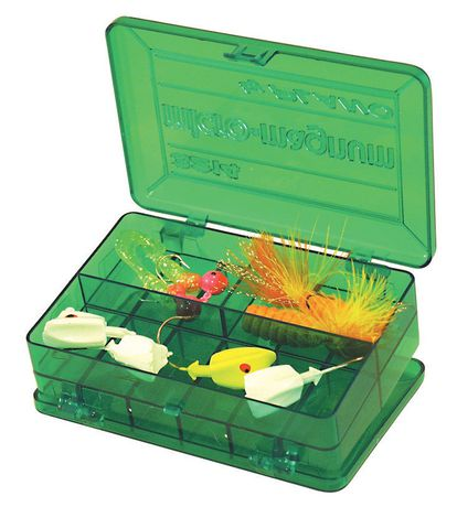 Plano molding 3214 micro tackle storage stowaway box for Walmart fishing line