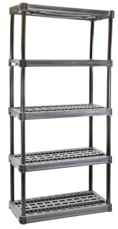 plano 9618 5 shelf walmart canada rh walmart ca plano plastic storage shelves