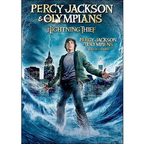 Percy Jackson The Olympians The Lightning Thief Bilingual Walmart Canada
