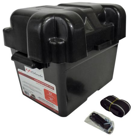 Schumacher Baf Bm1 Marine Battery Box Walmart Canada