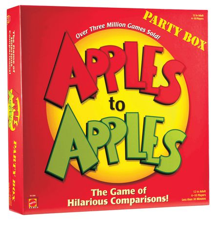 Apples to Apples Party Box Game - English - image 1 of 3