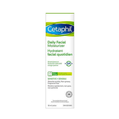 Cetaphil Daily Facial Moisturizer Spf 50 - image 3 of 3