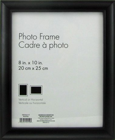 nikolai 8 x 10 black photo frame walmartca