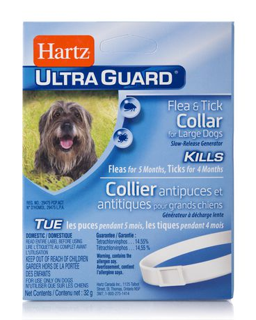 Hartz Ultraguard Reflective Flea Amp Tick Collar For Dogs