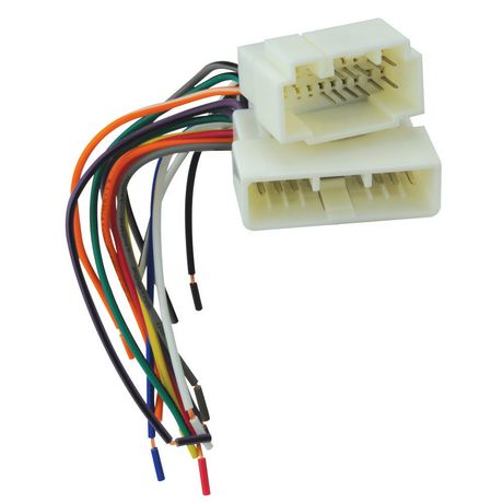 Scosche Car Stereo Wiring Connector on