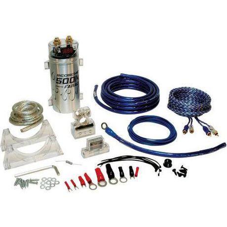 scosche 4 channel single amplifier wiring kit walmart canada rh walmart ca Stereo Wiring Kits Car Stereo Wiring Kit