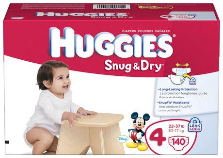 Huggies Snug & Dry Diapers Giant Pack - image 3 of 4