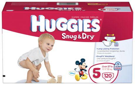 Huggies Snug & Dry Diapers Giant Pack - image 1 of 4