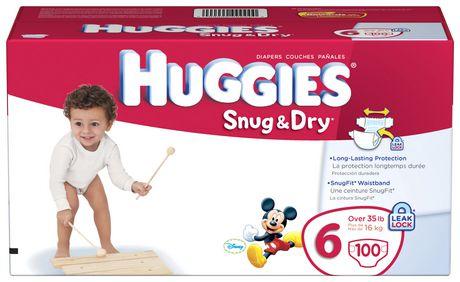 Huggies Snug & Dry Diapers Giant Pack - image 4 of 4