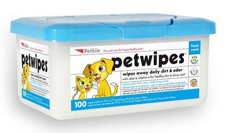Petkin Petwipes 100ct - image 1 of 1
