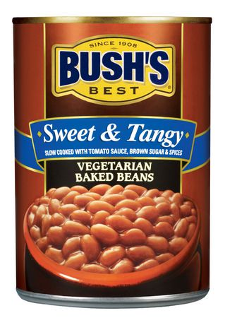 Bush S 174 Sweet Amp Tangy Vegetarian Baked Beans Walmart Canada