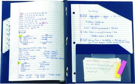 Chemise Five Star Advance Stay-Put Folder, 11-5/8 x 9-1/3 - image 1 de 2