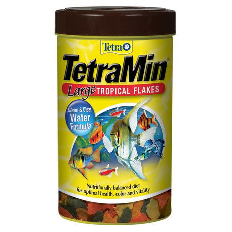 Nourriture en flocons tetramin pour poisson tropical for Tropical nourriture poisson