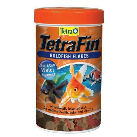 Nourriture en flocons tetrafin pour poisson rouge for Nourriture poisson rouge auchan