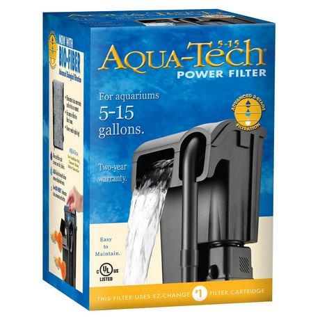 Filtre puissant aquatech 5 15 walmart canada for Fish tank filter walmart