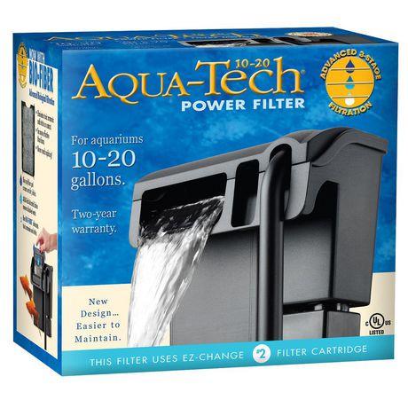 Filtre puissant pour aquarium aquatech 10 20 walmart canada for Desherbant puissant pour allees