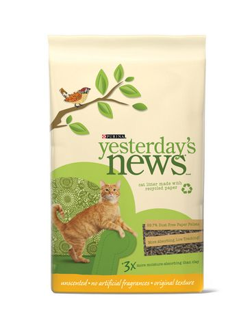 Yesterday S News Paper Pellets Cat Litter Walmart Canada