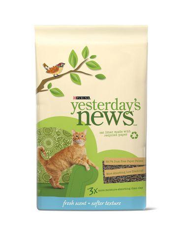 Yesterdays News Yesterday S News Litter Paper Pellets 12kg