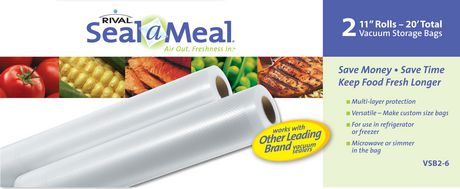 Seal a Meal, 2 Pack - 11' Rolls. - image 1 of 6