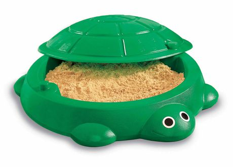 LITTLE TIKES Turtle Sand Box - image 1 of 2