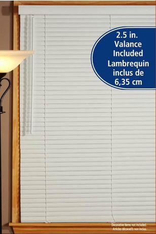 Mainstays White 1 5 Quot Room Darkening Mini Blind Walmart