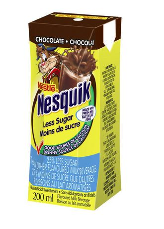 Nestl nesquik less sugar ready to drink chocolate walmart canada nestl nesquik less sugar ready to drink chocolate sciox Choice Image