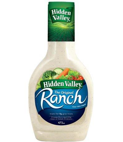hidden valley ranch original creamy dressing dip walmart canada. Black Bedroom Furniture Sets. Home Design Ideas