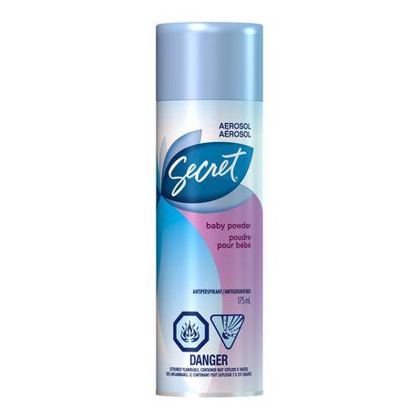Secret Aerosol Baby Powder Antiperspirant And Deodorant - image 1 of 2
