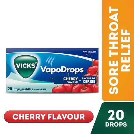 Vicks VapoDrops Drops, Cherry - image 1 of 6