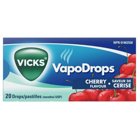 Vicks VapoDrops Drops, Cherry - image 3 of 6