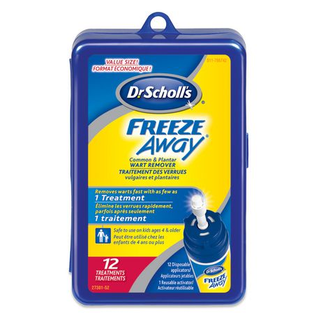 Dr.Scholl's Dr. Scholl's® Freeze Away® Common And Plantar Wart Remover Value Size - image 1 of 1