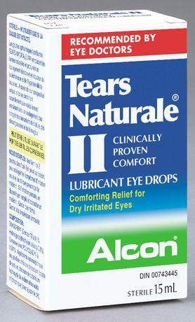 Gouttes lubrifiants Tears Naturale pour les yeux - image 1 de 1